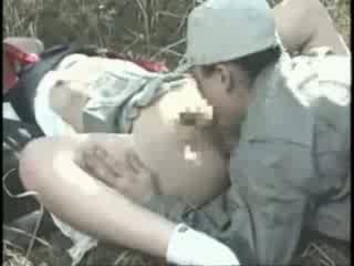 Innocent asiatisch mädchen gets ein brutally rauh fick video