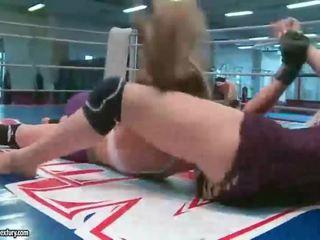 Wild bitches fighting