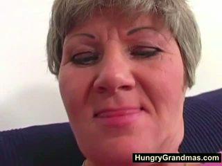Dedos gorda abuelita bella