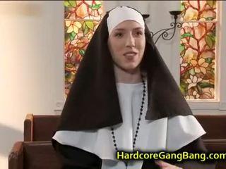 brünette, gruppen-sex, blowjob, anal