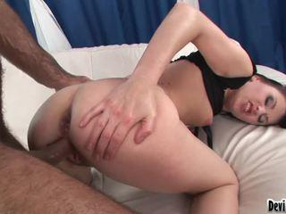 online brunette scène, kwaliteit hardcore sex film, heet hard fuck mov