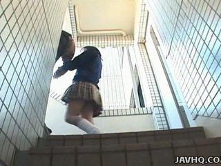 japanse porno, vol seks in de buitenlucht gepost, meer pijpbeurt scène