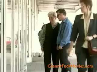 real brunette porn, you granny scene, blowjob