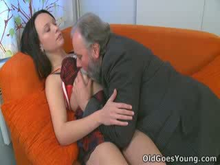 Sveta isn't usually the type to go with another man, but experience wins out in the end and she ends up getting fucked!