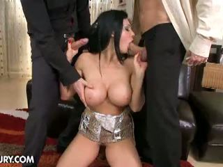 Aletta Ocean Empire: Aletta does two guys