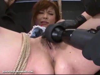 एक्सट्रीम पुसी punishment साथ हॉर्नी जपानीस और उसकी हेरी पुसी