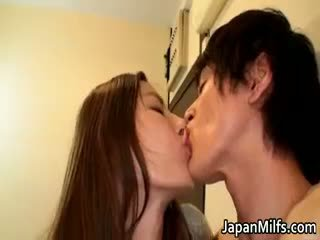 most brunette, japanese, all mature new