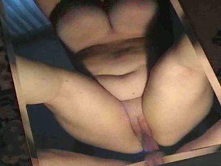 Casero alemana grande y bella anal y consolador vídeo