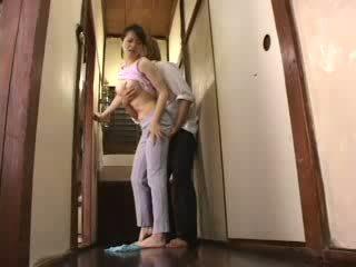Japonais en chaleur garçon attacked son belle mère vidéo