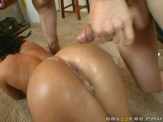 Mackenzee Pierce Gets A CreAmy White Jizzload On Her Butthole