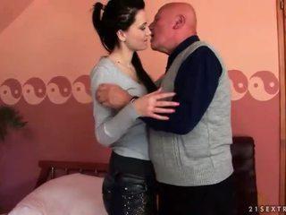 brunette, hardcore sex, orale seks, zuigen