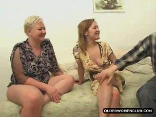 volwassen, zien aged lady, ervaren vrouwen gepost