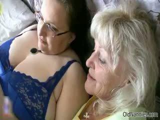 Horny Granny Loves Having Lesbian Sex Part6