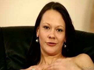 Silvia Saint Presents The Sensuous Caren Who Bares For You