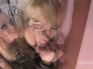 Gitta blond gagica ca pentru lovitură the whistle cu ally