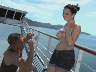 Angell summers - bj, anal und samenerguss nach photshoot auf ein cruiser (hd)