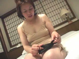 brunette, full japanese, fun masturbating new