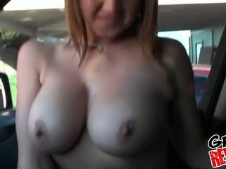 Girlfriend with amazing big natural tits