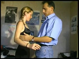 check blondes scene, rated french, real anal