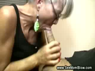 Mature lady loves sucking yong guys Rough dong