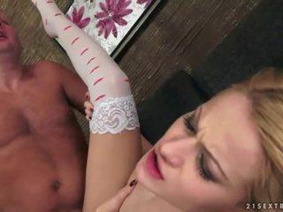 hardcore sex film, vers orale seks, meer blondjes