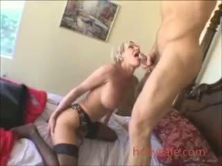 Sexy Blonde Mature Cumshot Mature Milf