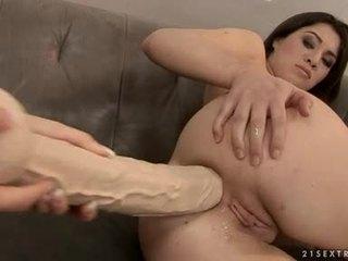 Tara وردي و tiffany دمية بعقب crack مشعرات