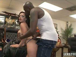 Lex Steele And Liza Del Sierra Milk Sacks Play In The Office