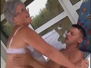 mooi grannies, mooi oude + young actie, mooi hardcore
