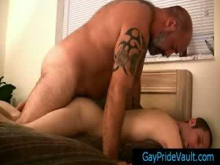 homo-, stoeterij film, kwaliteit twink video-