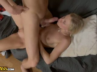 Cute girl hard fuck in nub, ass and mouth Video