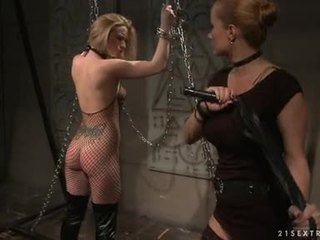 Katy Borman Tortured By Slutty Hottie With Chain