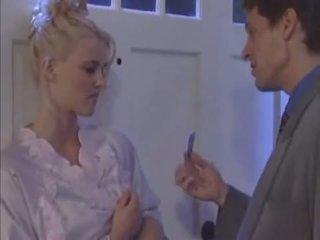Blonde bride tricked