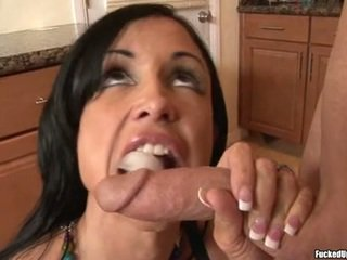 Hot Jewels Jade Is Working SeRious On That Guy Lover's Shaft Making It Hard To Handle