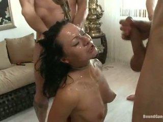 Sandra romain coquette 有 cumming drops 从 一 辣 chaps