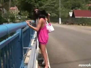 outdoor sex, public sex, pussy licking, lesbo