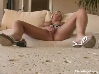 XXX Darling Alison Angel Requires To Have Off Quickly