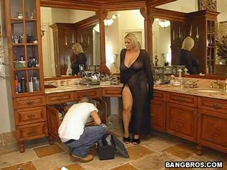 Logjammin A Naughty Housewife! Video