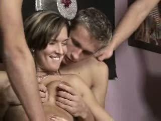 hq groepsseks, vers swingers video-, vol biseksuelen film
