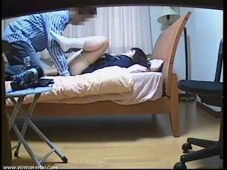 Students ruang alat kemaluan wanita licking dan fingered