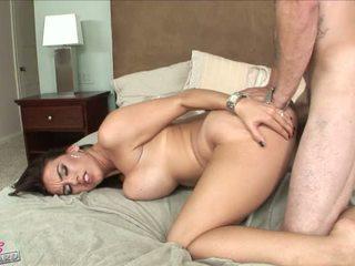Slutty Megan Jones gets her tight hole fucked hard doggystyle