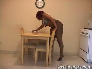 nominale zwart en ebony scène, nominale erotisch, vol ezel gepost