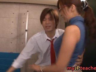 Kaori gorące azjatyckie professor loves pieprzenie