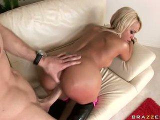 kwaliteit brunette video-, groot hardcore sex, ideaal pijpen seks
