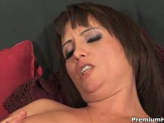 hq brunette porno, reverse cowgirl, doggy style thumbnail