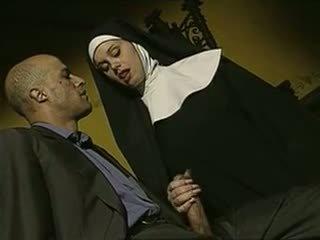 sexy, repugnante, italiano, nuns