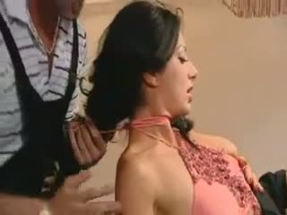 French hot mom fucked by two guys Video