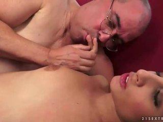 groot brunette klem, hardcore sex, beste orale seks film