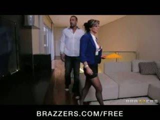 Esperanza gomez - sexig spanska verklig estate agent fucks henne klient till göra en rea