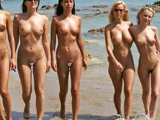 นู้ด ชายหาด แฟชั่น แสดง 2